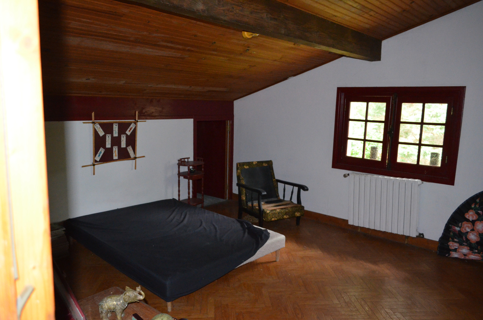 chambre (appartement T4 duplex)