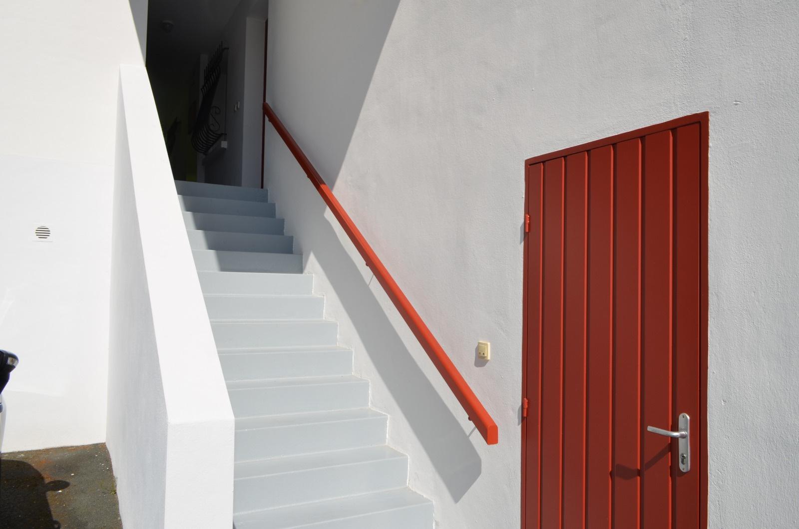 Escalier d'arrivée